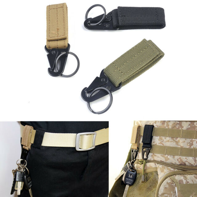 Outdoor Camping Equipment Carabiner Military Buckle Hunting Equipment Lock US
