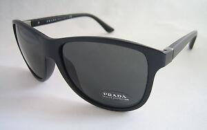 Gafas-de-sol-PRADA-SPR-06O-1BO1A1-Mate-Negro-BNWT-Original-Unisex