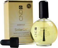 CND Essentials SOLAR OIL 2.3 oz Nail Cuticle Conditioner Polish Treatment Salon