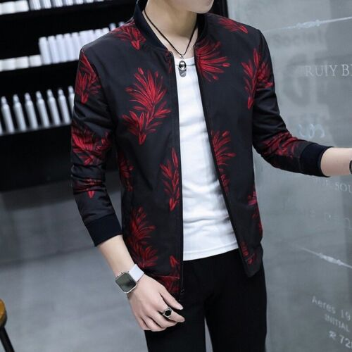 Cheap 2018 Men Summer Zipper Korean Fashion Sport Jacket Spring Coat Sport Clothes New for sale