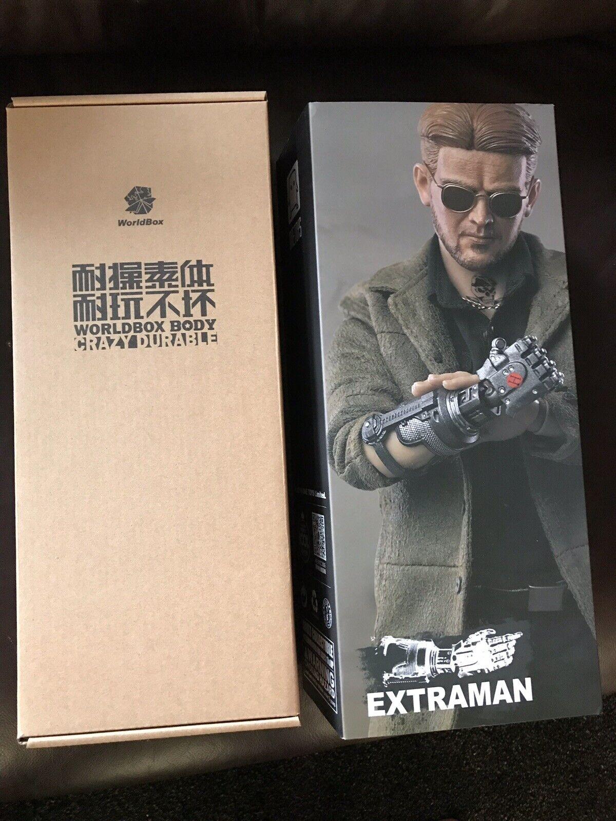 1 6 6 6 Onetoys x World Box OT-003 Extraman Logan Donald Pierce Not Hot Toys Figure 330309