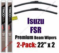 Wiper Blades 2-pack Premium - Fit 1997-2002 Isuzu Fsr - 19220x2