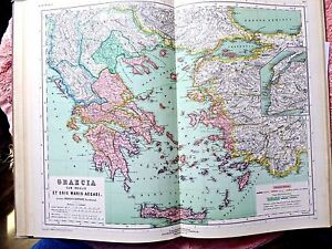 Antique superb 12 maps atlas antiquus kiepert palestine turkey image is loading antique superb 12 maps atlas antiquus kiepert palestine gumiabroncs Image collections