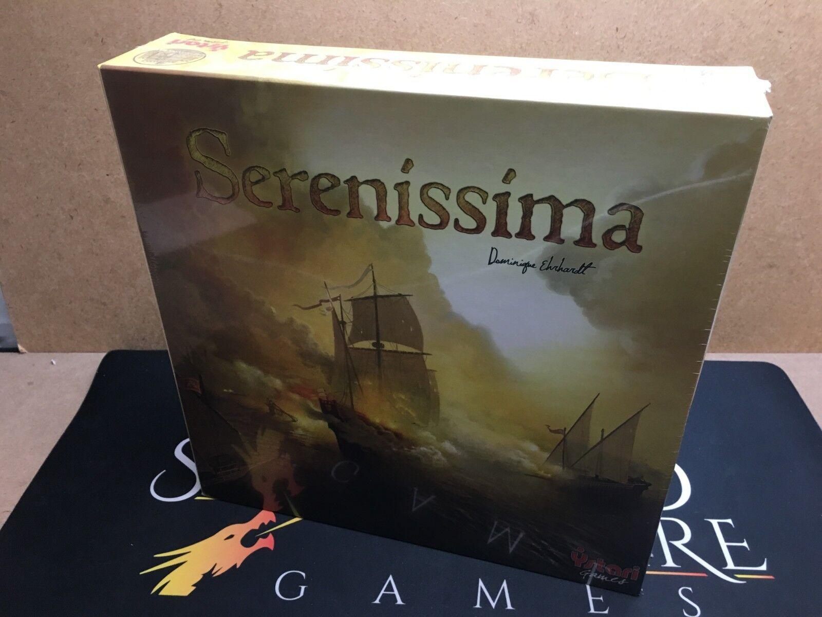 Serenissima the the the Board Game - Ystari Games (Genuine Sealed) 3939e1