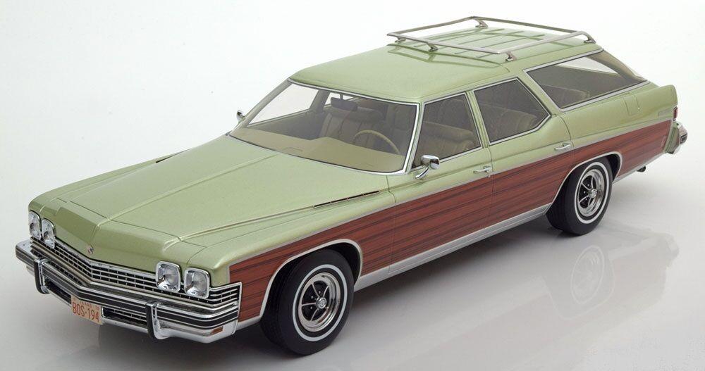 BOS-Modelos 1 18. Buick carro de raíces.