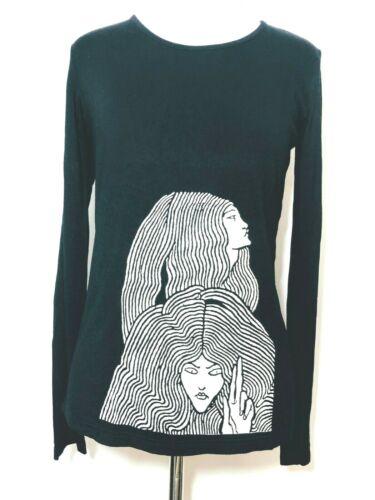 Agnes B T-shirt d'artiste Aubrey Beardsley Black l