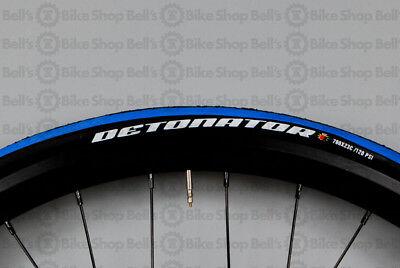 BLUE Folding Road Race Training Tire Maxxis Detonator 700 x 23c BLACK