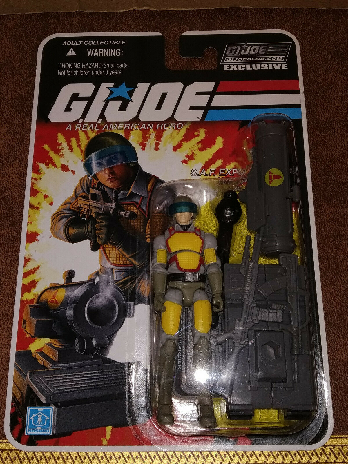 GI-Joe 25th Anniversary FSS Verein Exclusive 2-09 Bombardier Figure Hasbro 2013