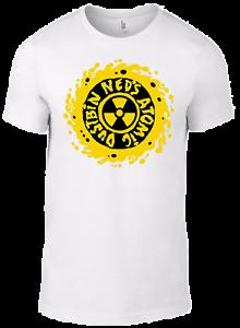 White Logo NEW T-Shirt Ned/'s Atomic Dustbin