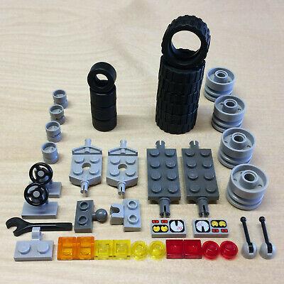 24x12 balloon 20 tires//10 axles car truck lot vehicle 10 SETS of LEGO WHEELS