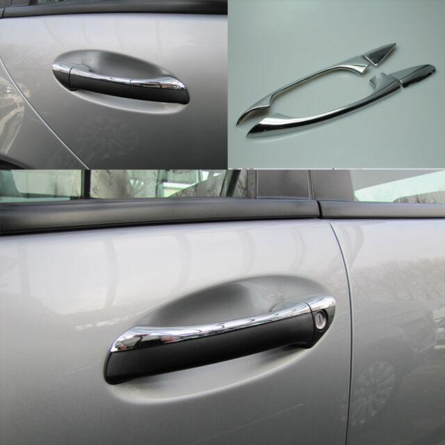 Chrom Türgriffabdeckungen Türgriff für Mercedes W203 W211 W219