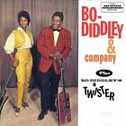 Bo Diddley & Company/Bo Diddley's a Twister by Bo Diddley (CD, Jan-2013, Hoodoo)