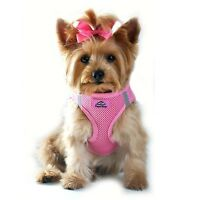 Choke Free Reflective Step In Ultra Harness Pink Medium American River