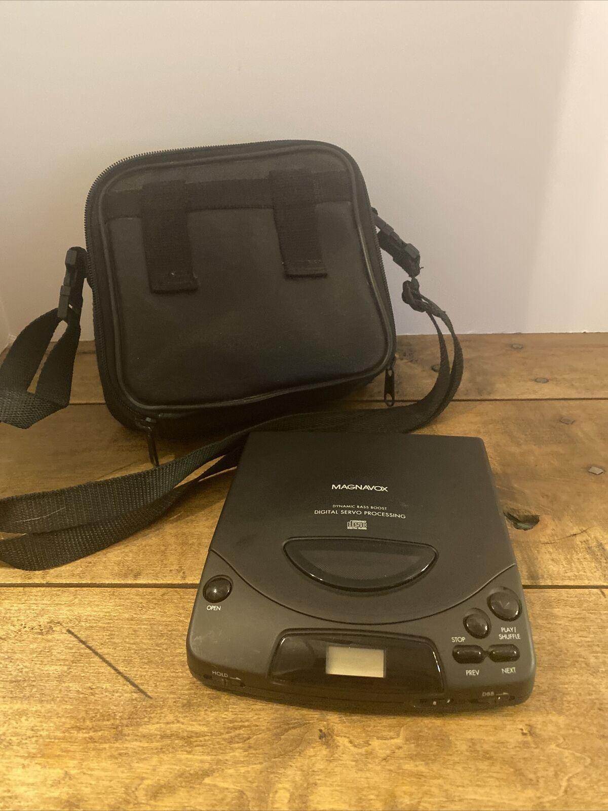 VTG 1994 Magnavox Personal Portable CD Player Dynamic Bass Boost AZ6839 Works