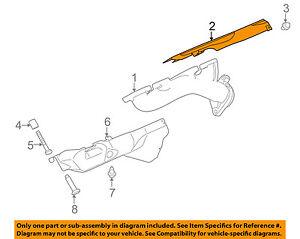 jaguar oem 11 17 xj exhaust manifold gasket aj812284 ebay rh ebay com LHT Exhaust Manifold B-Series LHT Exhaust Manifold B-Series