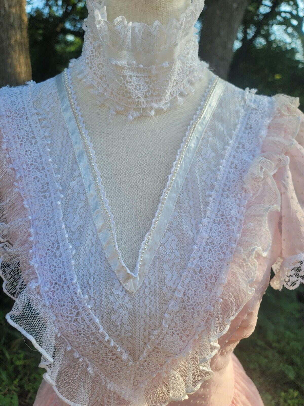 Vintage Gunne Sax Dress 9 princess Gunne Sax Swis… - image 4