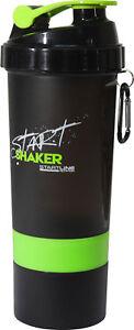 StartLine-600ml-Start-Shaker-Bottle-Black-Green