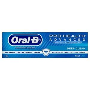 Oral-B Pro Health Advanced Deep Clean Mint Fluoride Toothpaste 110g