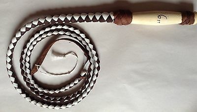 INDIANA JONES 6/' Foot Brown Leather Costume Whip
