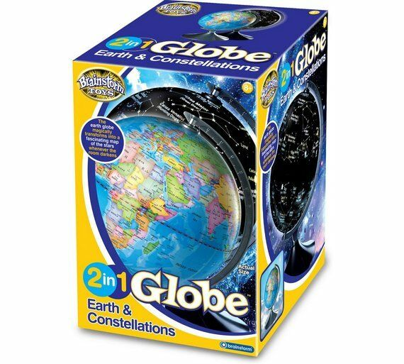Brainstorm - 2 in 1 Globe Earth & Constellations - Brand New