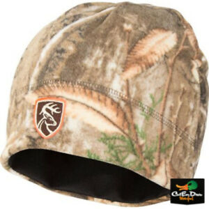 Image is loading DRAKE-WATERFOWL-NON-TYPICAL-WINDPROOF-FLEECE-BEANIE-SKULL- 553897f6c53
