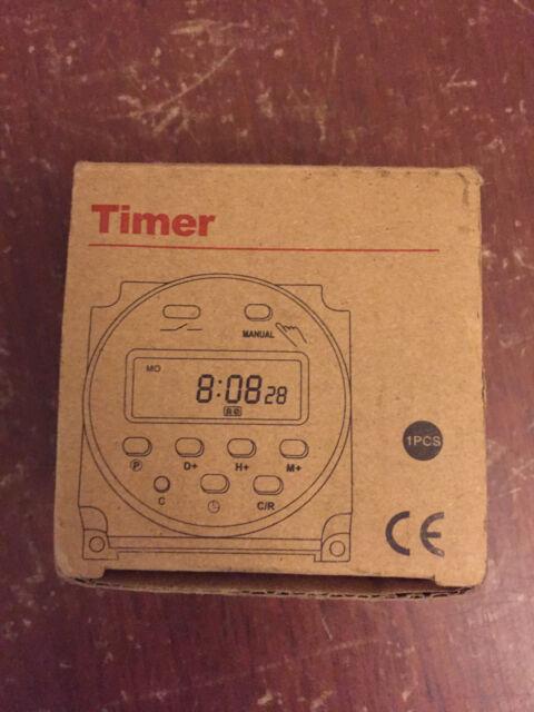 Oktimer Digital Electronic Timer Switch CN101A