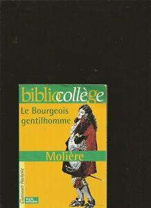 Le-Bourgeois-Gentilhomme-de-Moliere-Livre-d-039-occasion