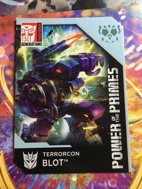 Transformers Power Of The Primes Terrorcon Cutthroat Blot Prima Bio Card