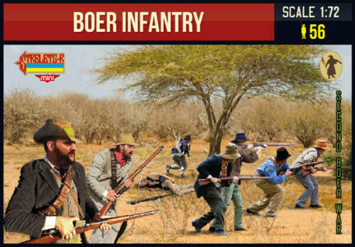 Strelets 1//72 Boer Infantry Anglo-Boer War # M138
