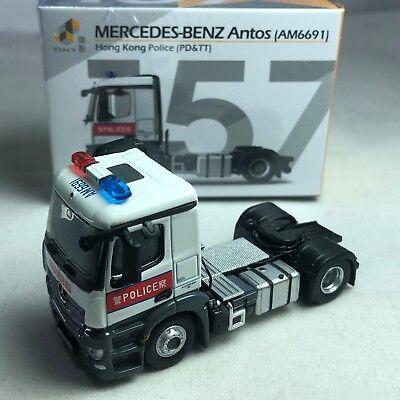 AM6691 NEW TINY 157 MERCEDES-BENZ Antos HONG KONG CITY Police PD/&TT