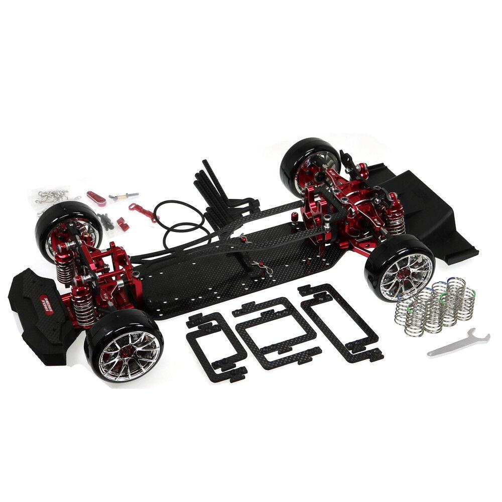 [ TT02-RWDV2-RE] TT02-RWD V2 Drift GRT Modified  Chassis Kit[RE]  produttori fornitura diretta