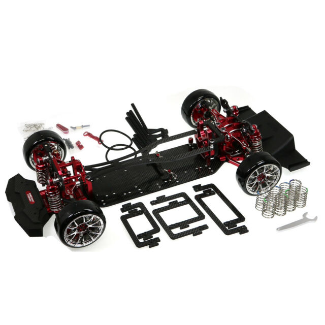 Tt02-rwd V2 Drift GRT Modified Chassis Kit Re | eBay