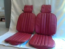 Mercedes Benz seat covers 280SL red Vinly 113 1968 72