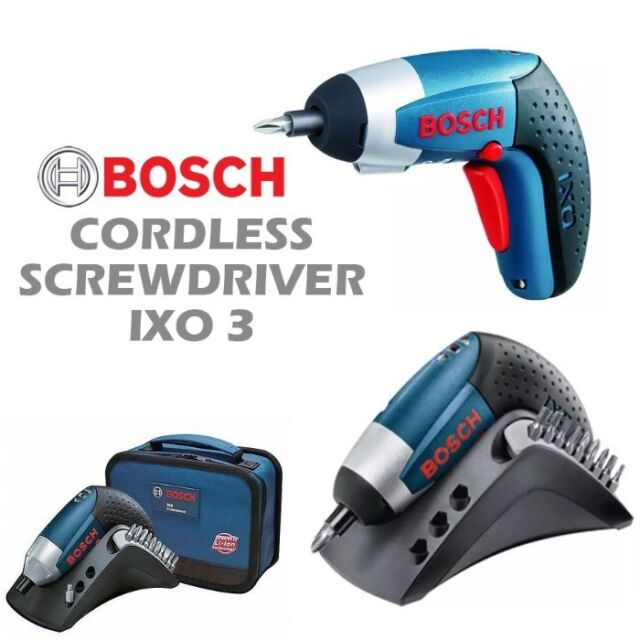 Bosch IXO V 3.6V Cordless Screwdriver, 1x1.5AH Battery