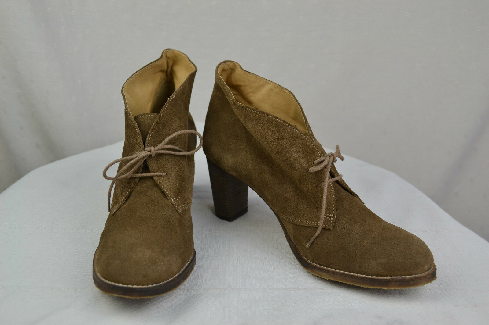 Boots Low Boots RUDY'S Suede Brown T 41,5 Top Condition