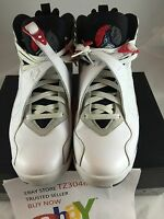 Air Jordan VIII 8 Retro 2013 BUGS BUNNY WHITE BLACK RED 305381-103 sz 11