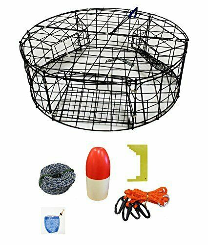 KUFA Vinyl Coated Round Crab Trap & accessory kit  CT110CAS1