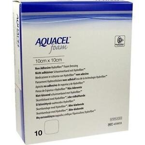AQUACEL-Foam-nicht-adhaesiv-10x10-cm-Verband-10-St