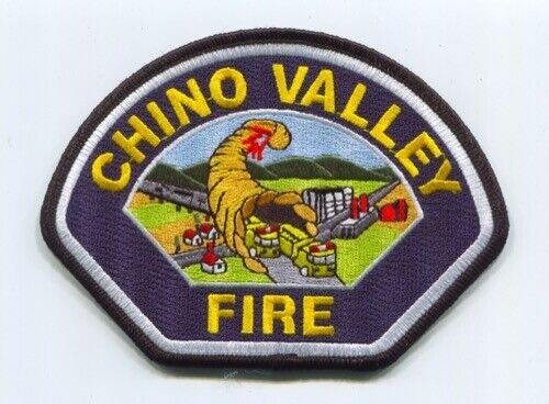 Chino Valley Fire Department Patch California CA