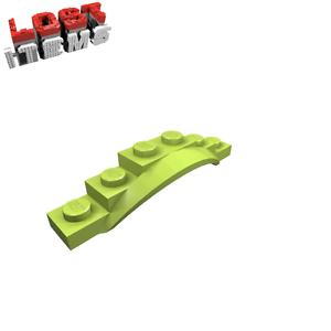 62361 neu LEGO Kotflügel 1,5 x 6 x 1 mit Rundbogen limettengrün 4 x