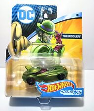 Hot Wheels DC Character Cars  THE RIDDLER  FBC72-K912