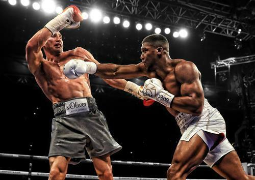 ANTHONY JOSHUA POSTER Klitschko Boxing Wall Art Print Picture Photo A3 A4
