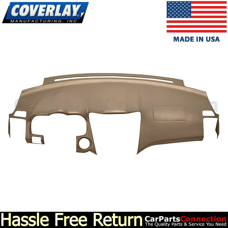 For Toyota 4Runner 03-09 Coverlay Medium Brown Dash Pad w//o Speaker Cut Out
