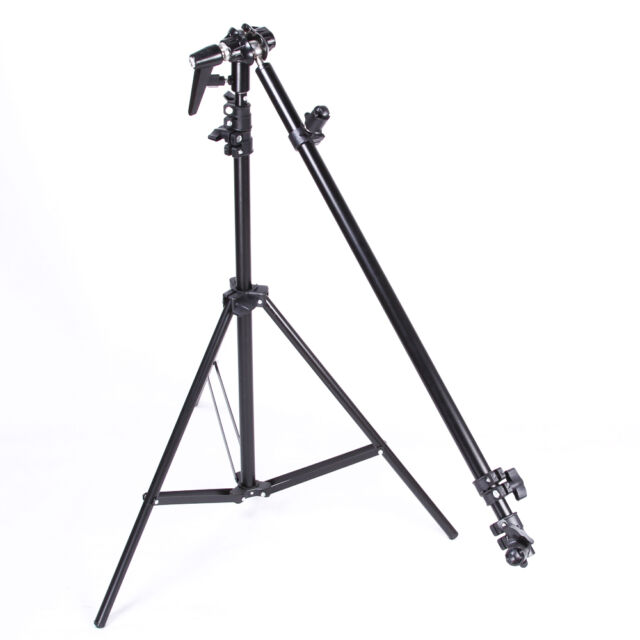 PRO Photo Studio Disc Reflector Holder Swivel Head Holding Boom Extendable