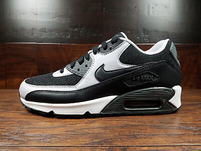 Nike Air Max 90 Essential (Black Grey Anthracite) [537384 053] Mens 7.5 14 | eBay