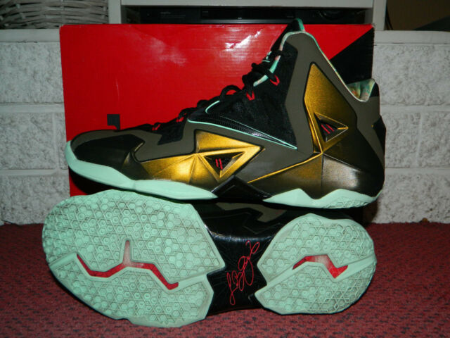 5a6dc5ab612f Men s Nike LeBron 11 XI Kings Pride Limited Edition Shoes 616175-700 Size 13