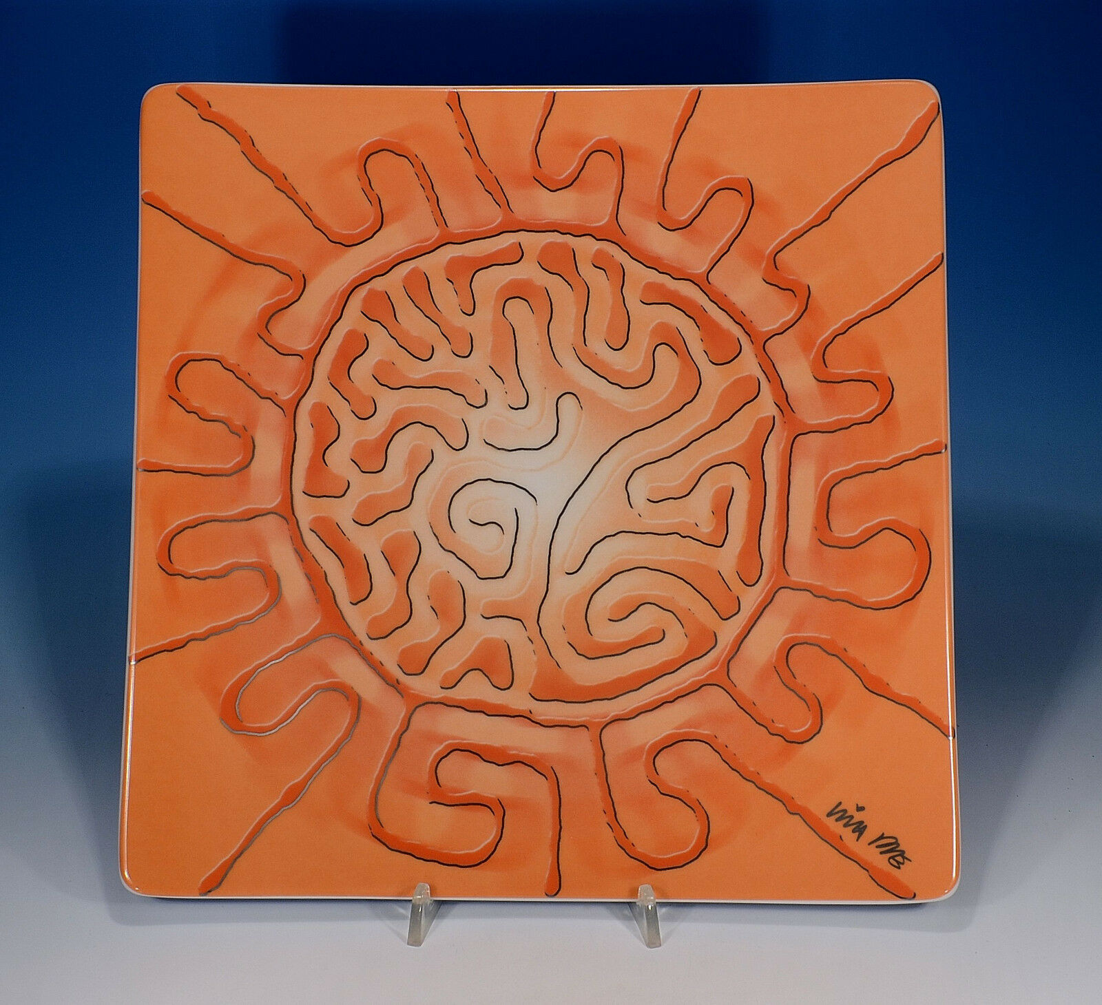 Rosenthal  Celebrity ART EDITION 1  plaque assiettes 30,5 x 30,5 cm 1. Choix