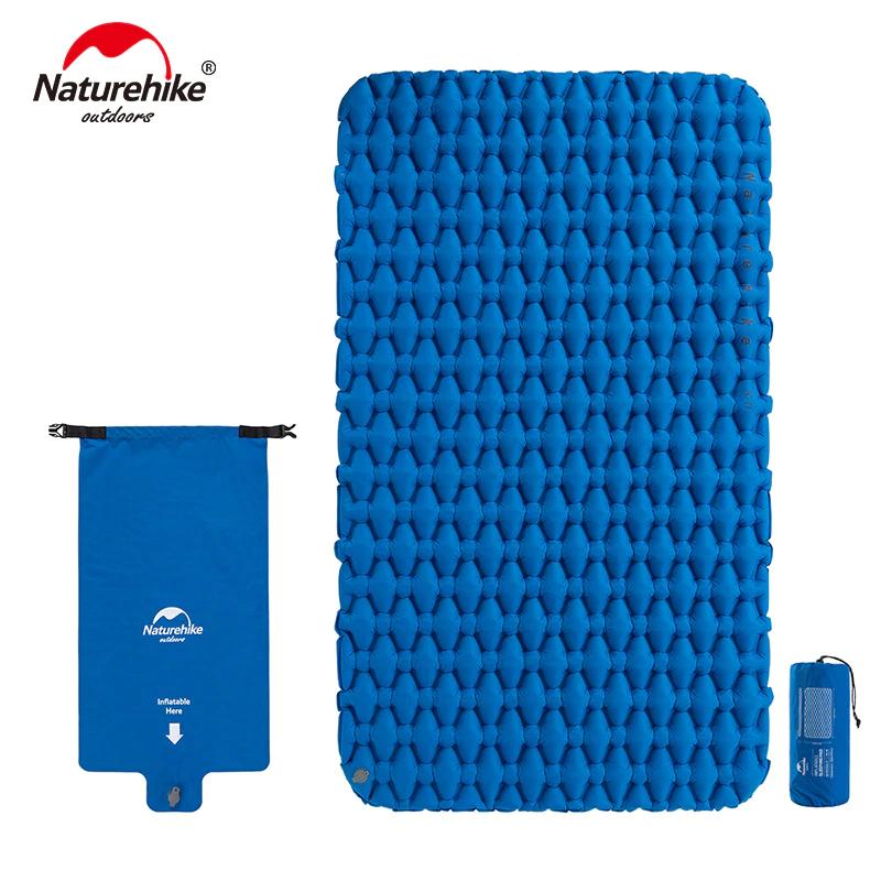 Naturehike Nylon Air Pad Lightweight Moisture-proof Air Camping Mattress