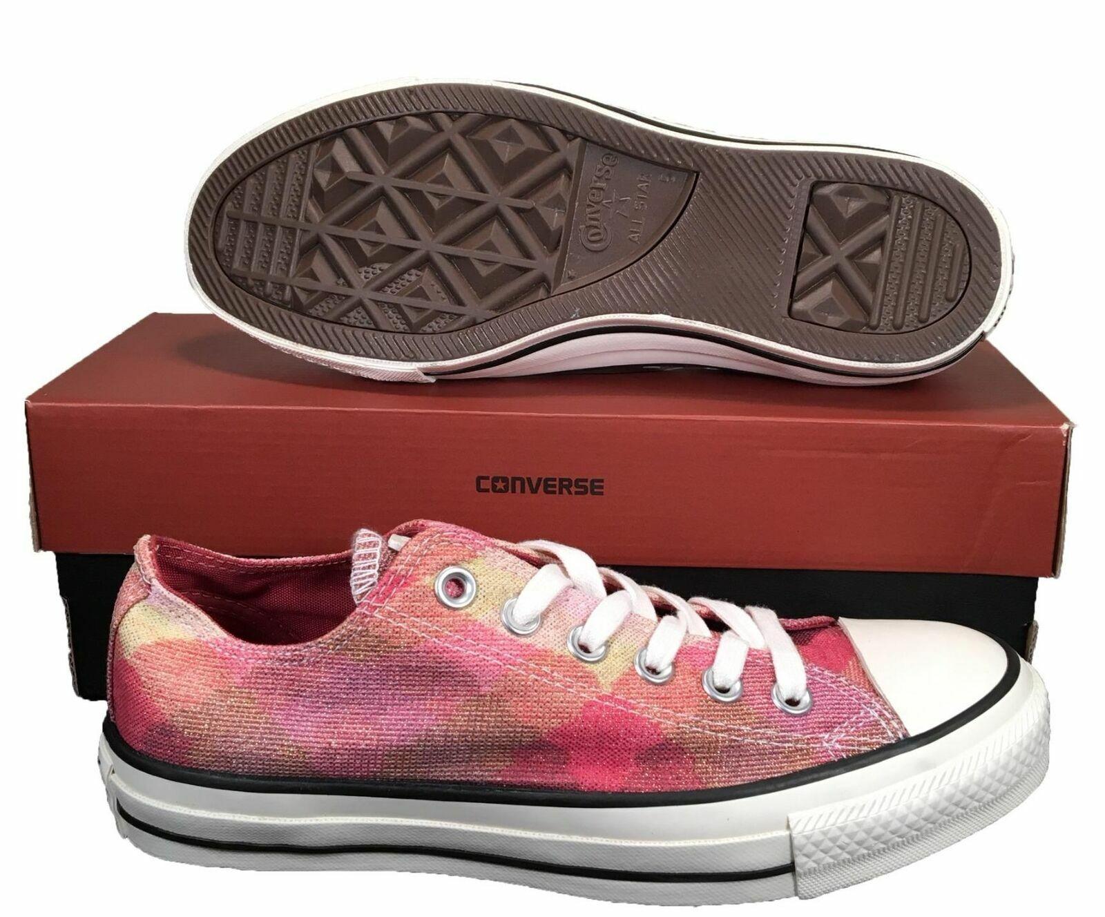 Converse x Missoni Chuck Taylor All Star Ox Low Top Glitter Pink 5 Men (7 Women)