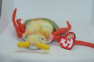 2e25a516527 Ty Beanie Baby Scurry - Mint Beetle 2000 Stuffed Toy Plush Tetired ...